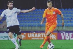 Persita Tangerang  lengkapi kuota pemain asing setelah datangkan Evgeniy Budnik