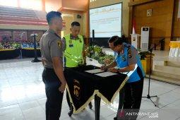 Personel Polda Jambi seleksi pendidikan tandatangani pakta integritas