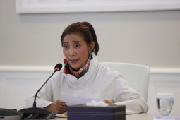 Susi Pudjiastuti: Politisi harus atasi cepat sengketa Natuna