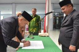 Rektor Unimed lantik 12 Wakil Dekan
