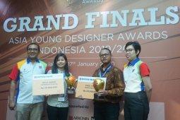 Peraih emas kompetisi desain muda Indonesia dikirim ke tingkat internasional