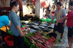 Harga ikan segar di pasar  Ambon mahal