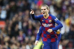 Copa del Rey, Griezmann selamatkan Barca dari hasil memalukan