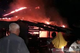 Ditinggal pergi, rumah ludes terbakar di Aceh Timur