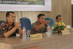 Polisi, jaksa dan manajemen kebun di Simalungun bahas tindak pidana perkebunan