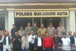 Ormas Sapu Jagat dan BPPKB deklarasi damai disaksikan Bupati Sukabumi