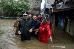 Ridwan Kamil tinjau banjir Bandung Selatan