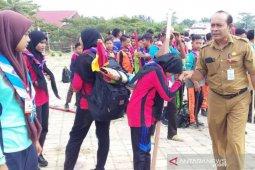 Ratusan pramuka penggalang se-Aceh Timur ikut lomba jelajah