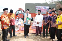 Gubernur Jambi berikan bantuan ke Ponpes yang terbakar