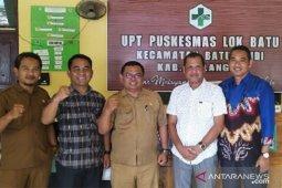 Legislator :  Komisi I DPRD  Balangan monitoring UPT Puskesmas Lok Batu