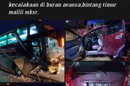 Kecelakaan maut bus dengan Avanza, lima orang tewas satu kritis