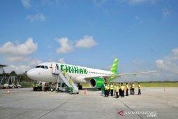 Penerbangan internasional di bandara Hasanuddin turun 23,31 persen