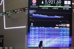 IHSG naik tipis di tengah kehati-hatian investor terhadap wabah Corona