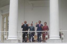 Presiden Jokowi sambut kunjungan Presiden Singapura di Istana Bogor