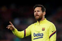 Messi serang balik direktur Barcelona Eric Abidal