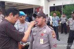 Satresnarkoba Polresta Ambon periksa mendadak 25 anggota personel