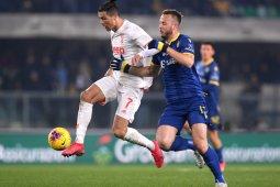 Juventus kalah dari Verona 1-2