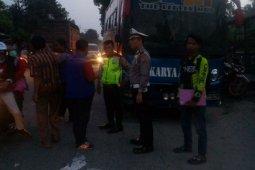 Ditabrak bus Karya Agung, ibu dan anak tewas di Simalungun