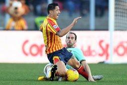 Napoli kalah 2-3 dari Lecce