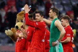 Bayern Munchen puncaki klasemen meski seri lawan Leipzig
