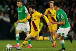 Barcelona gebuk Real Betis 3-2