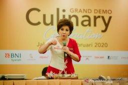 Masyarakat Jakarta antusias ikuti demo buat kue oleh Chef Achen