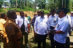 Wamen PUPR tinjau lokasi pembangunan jembatan Pulau Mansinam