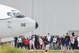 Malam ini, 21 WNI dari China kembali ke tanah air