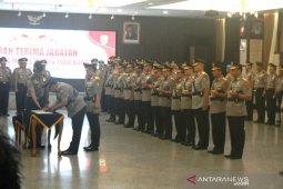 Kapolri pimpin sertijab Kapolda Gorontalo bersama 7 kapolda lainnya