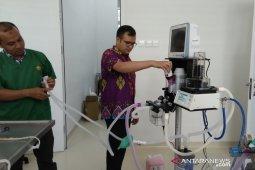 Rumah sakit hewan Unsyiah dihibah mesin anestesi dan ventilator