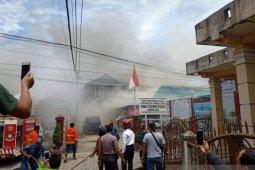 Rutan Kabanjahe terbakar, para napi dipindahkan ke empat daerah di Sumut