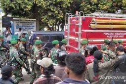 Pasukan TNI bantu redam kericuhan di Rutan Kabanjahe Sumut