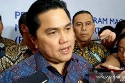 Erick Thohir rombak jajaran direksi PTPN III Holding