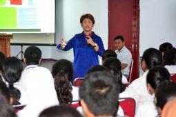 Mercy Barends sosialisasi empat pilar kebangsaan di SMA 1 Ambon
