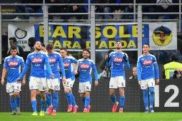 Napoli kalahkan Inter di leg pertama semifinal Coppa Italia