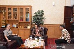 Ketua dan Waka DPRD sambut kunjungan Kapolda Jambi