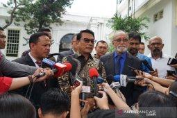 Bertemu Presiden Jokowi, Wali Nanggroe bahas realisasi MoU Helsinki