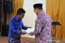 Exit Briefing BPK rangkaian pemeriksaan tahap awal laporan keuangan Pemkab HSS