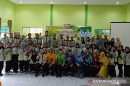 Bupati dan Wabup HST hadiri temu koordinasi Penyuluhan Pertanian