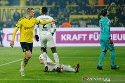 Liga Jerman, Haaland bantu Dortmund kembali ke jalur kemenangan