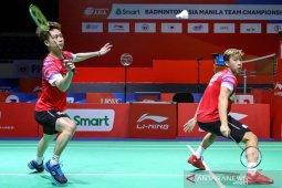 Kevin/Marcus tambah skor keunggulan Indonesia atas Malaysia jadi 2-0