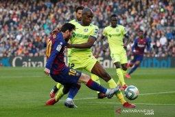 Liga Spanyol, Barcelona susah payah atasi Getafe 2-1
