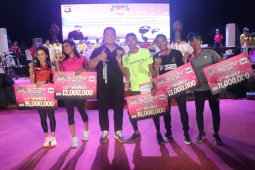 """20 negara ikuti """"Bali Bhayangkara Medco Valentine Eco Run 2020"""""""