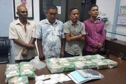 BNN berhasil gagalkan penyeludupan 33 kg sabu-sabu dan 2.000 butir pil ekstasi