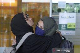 Mahasiswa Aceh dari Natuna sehat walafiat