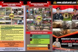 Polres Tanjab Timur luncurkan website cegah karhutla