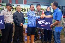 XL Axiata salurkan bantuan untuk warga terdampak longsor Bandung Barat