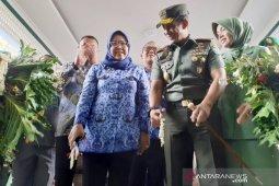Bupati Bogor bekali tentara motor trail untuk awasi Sungai Ciliwung