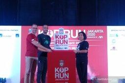 Liverpool penggemar meriahkan ajang lari Kop Run di Jakarta