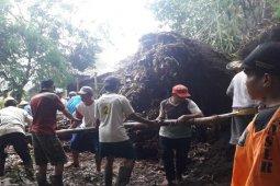 Beberapa wilayah di Magelang terjadi longsor